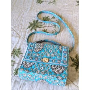 VERA BRADLEY Julia Crossbody Retired Totally Turq